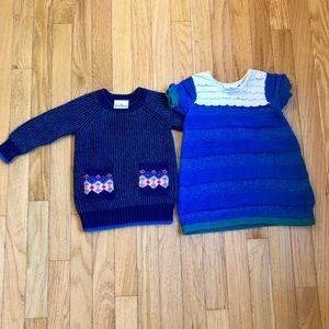 Hanna Anderson Sweater Dresses